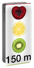 Traffic Light Portable Battery Charger by Veronica Minozzi