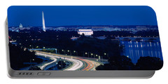 Traffic On The Road, Washington Portable Battery Charger by Panoramic Images