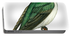 Tree Swallow  Portable Battery Charger by Anonymous