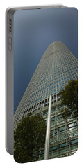 Trees In Front Of A Building, Two Portable Battery Charger by Panoramic Images