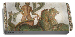 Triumph Of Neptune Portable Battery Charger by Roman School