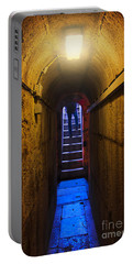 Tunnel Exit Portable Battery Charger by Carlos Caetano