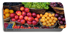 Tuscan Fruit Portable Battery Charger by Inge Johnsson