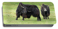 Yaketty Yak Portable Battery Charger by Liz Leyden