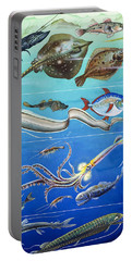 Underwater Creatures Montage Portable Battery Charger by English School
