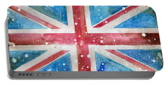 Union Jack Portable Battery Charger by Sean Parnell