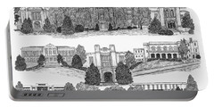 University Of Arkansas Fayetteville Portable Battery Charger by Liz  Bryant