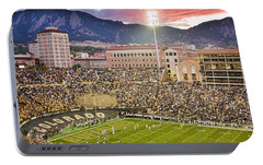 University Of Colorado Boulder Go Buffs Portable Battery Charger by James BO  Insogna