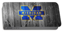 University Of Michigan Portable Battery Charger by Dan Sproul