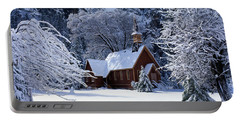 Usa, California, Yosemite Park, Chapel Portable Battery Charger by Panoramic Images