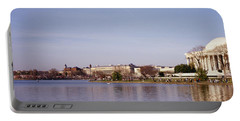 Usa, Washington Dc, Washington Monument Portable Battery Charger by Panoramic Images