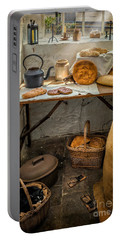 Victorian Bakers Portable Battery Charger by Adrian Evans