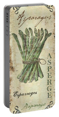 Vintage Vegetables 1 Portable Battery Charger by Debbie DeWitt