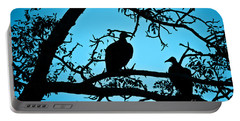 Vultures Portable Battery Charger by Delphimages Photo Creations