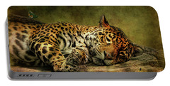 Wake Up Sleepyhead Portable Battery Charger by Lois Bryan