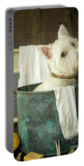 Wash Day Portable Battery Charger by Edward Fielding