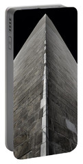 Washington Monument Portable Battery Charger by Marianna Mills