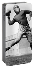 Washington State Quarterback Portable Battery Charger by Underwood Archives