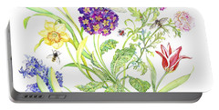 Welcome Spring I Portable Battery Charger by Kimberly McSparran