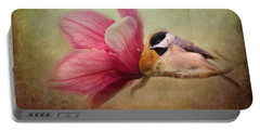 Welcome Spring Portable Battery Charger by Jai Johnson
