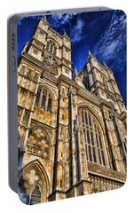 Westminster Abbey West Front Portable Battery Charger by Stephen Stookey
