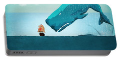 Whale Portable Battery Charger by Mark Ashkenazi
