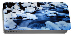 Winter Yosemite National Park Ca Portable Battery Charger by Panoramic Images