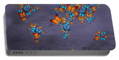 World Map  Portable Battery Charger by Mark Ashkenazi