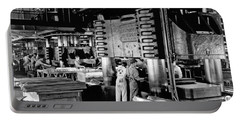 Wwii Aircraft Factory Portable Battery Charger by Underwood Archives