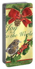 Xmas Around The World 2 Portable Battery Charger by Debbie DeWitt