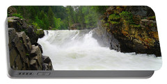 Yaak Falls Portable Battery Charger by Jeff Swan