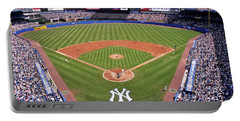 Yankee Stadium Portable Battery Charger by Allen Beatty