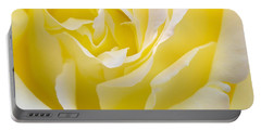 Yellow Rose Portable Battery Charger by Svetlana Sewell
