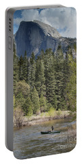 Yosemite National Park. Half Dome Portable Battery Charger by Juli Scalzi