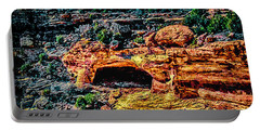 Yucca Cave Canyon Dechelly Portable Battery Charger by Bob and Nadine Johnston