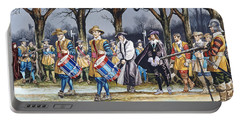 Charles I's Last Walk Portable Battery Charger by Ron Embleton
