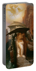 Perseus And Andromeda Portable Battery Charger by Frederic Leighton