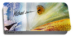 Michael Jackson Portable Battery Charger by Augusta Stylianou