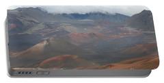 Haleakala Volcano Maui Hawaii Portable Battery Charger by Sharon Mau
