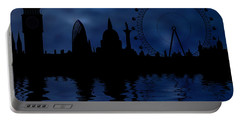 London Skyline Portable Battery Charger by Michal Boubin