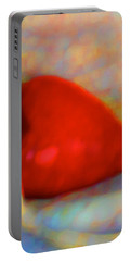 Portable Battery Charger featuring the digital art Abundant Love by Richard Laeton