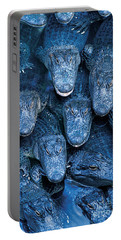 Alligators Portable Battery Charger by Gary Meszaros and Photo Researchers