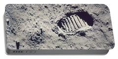 Apollo 11 Footprint Portable Battery Charger by Nasa