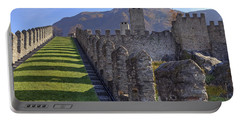 Bellinzona - Castelgrande Portable Battery Charger by Joana Kruse