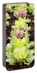 Cabbages Portable Battery Charger by Tom Gowanlock