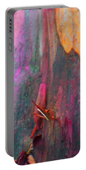 Portable Battery Charger featuring the digital art Dance For The Earth by Richard Laeton