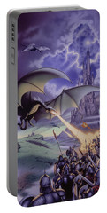 Dragon Combat Portable Battery Charger by The Dragon Chronicles - Steve Re