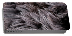 Emu Feathers Portable Battery Charger by Hakon Soreide