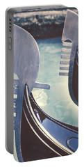 gondolas - Venice Portable Battery Charger by Joana Kruse