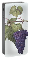Grapes  Portable Battery Charger by Margaret Ann Eden